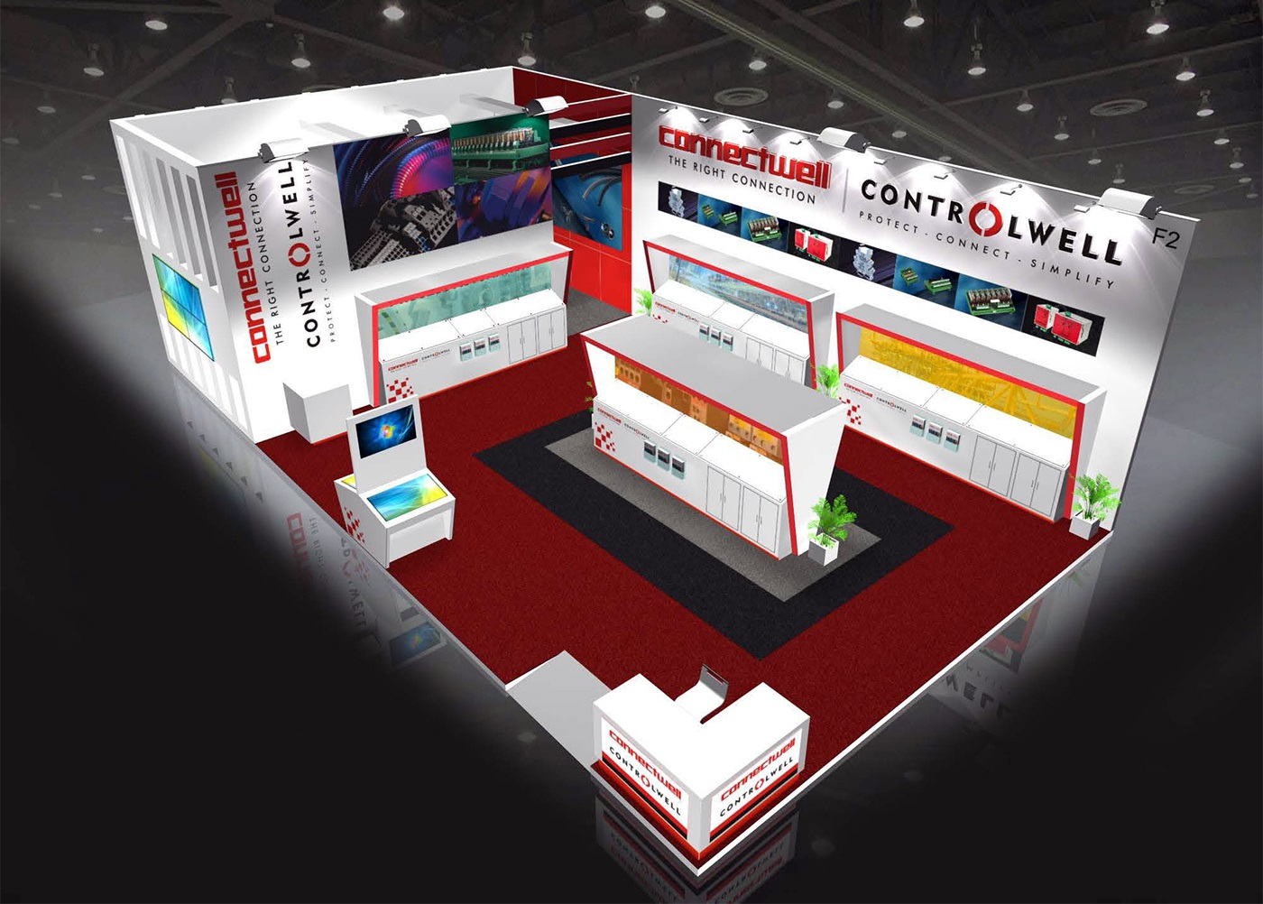 Connectwell participating in Elecrama 2020 Exhibition, Delhi, India
